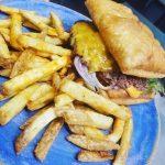 Kimski puff burger